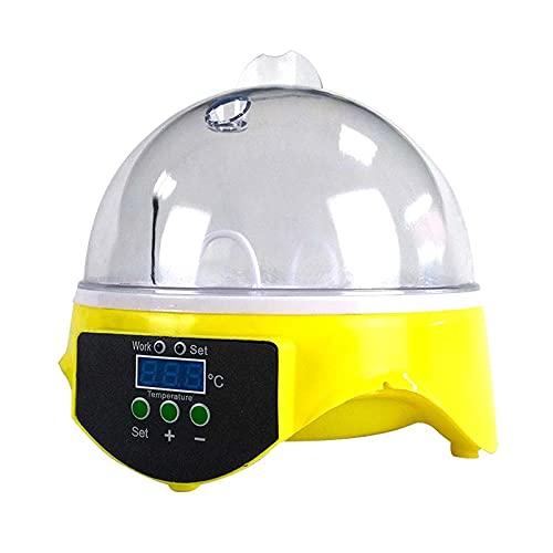 Varadyle Incubadora Digital de 7 Huevos, Control de Temperatura Inteligente, Granja, Pato, Pollo, Incubadora, Enchufe de la UE