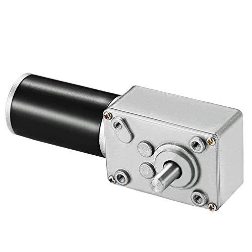 ICQUANZX Motor de engranaje de gusano de CC 12 V 16r Turbina...