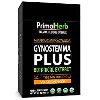Gynostemma Jiaogulan Extract Powder - Potent 20:1 Extract Powder - 82 Servings - Longevity Tonic - Full Spectrum by Primal Herb