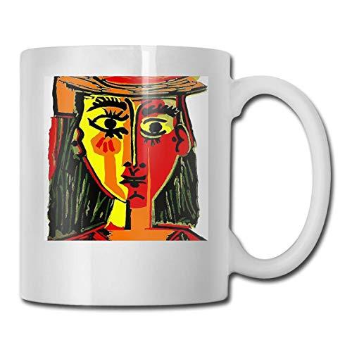 haoqianyanbaihuodian Pablo Picasso Woman In A Hat 1962 - Camiseta (330 ml)