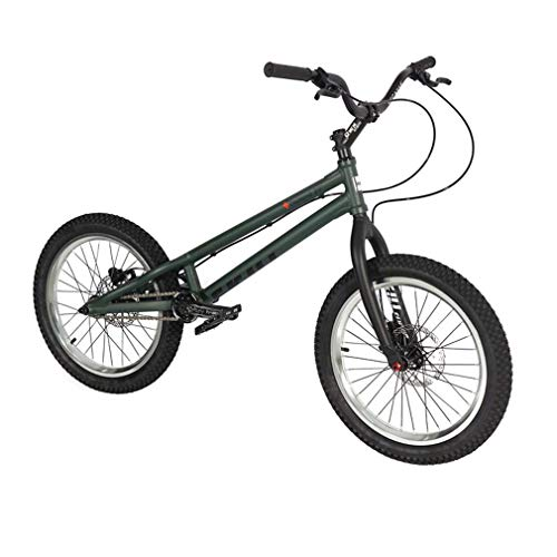 LJLYL 20 Pouces vélo BMX vélo d'essai Complet, Fourche à Cadre en Alliage d'aluminium Haute résistance Roues Double Couche de Type A, Frein MAGURA MT2