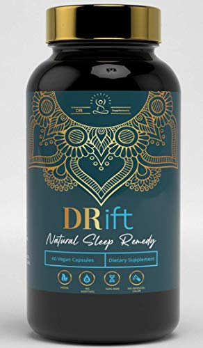 DRift - A nootropic Natural Sleep Remedy - 5-HTP, L-Theanine, Magnesium, for quicker and better quality sleep