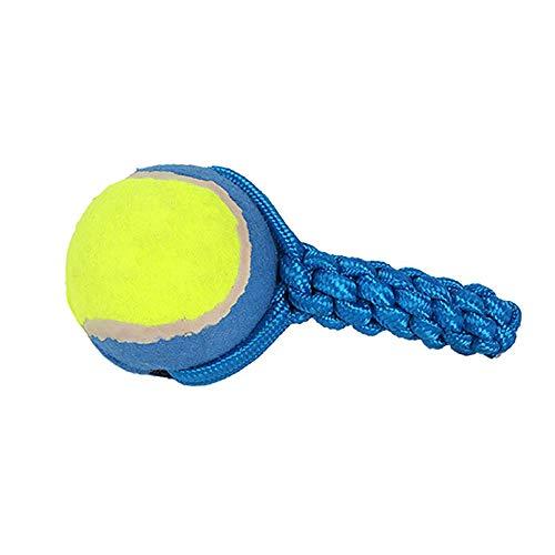 NA Dogs - Pelota de tenis con cuerda para perros