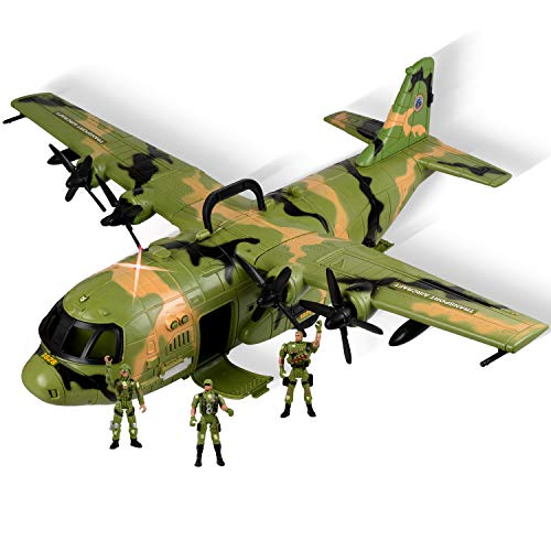 WolVolk Giant C130 Bomber Military Combat Fighter Airforce Airplane...