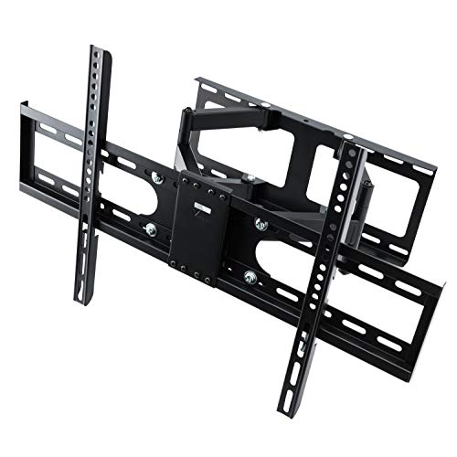 Vemount TV Wall Mount Bracket Full Motion TV Mounts for 30-65 inch LCD LED Flat Screen TVs up to 110 LBS Full Motion Articulating Arm Swivel Rotation Tilt VESA 600x400mm, Studs up to 16 Inch