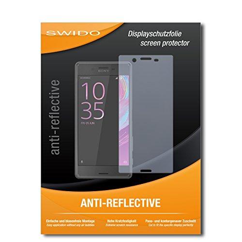 SWIDO Bildschirmschutz für Sony Xperia X Performance [4 Stück] Anti-Reflex MATT Entspiegelnd, Hoher Festigkeitgrad, Schutz vor Kratzer/Glasfolie, Schutzfolie, Bildschirmschutzfolie, Panzerglas Folie