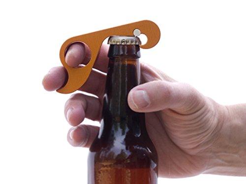 GrabOpener : One-handed Bottle Opener (Red)