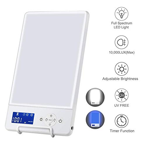 10000 Lux SAD Light Therapy Lamp...