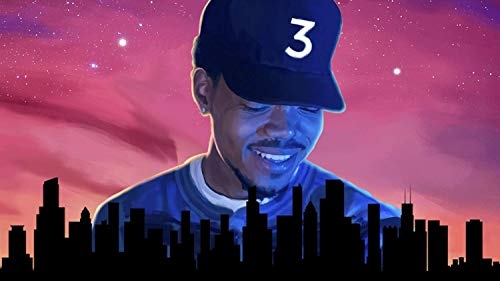 Chance The Rapper Acid Rap Poster Print .by Go Awesome (16 inch X 25 inch, Rolled) Print Sticker Retro Unframed Wall Art Gifts 40x63cm