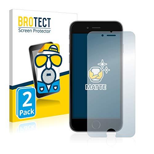 BROTECT 2X Entspiegelungs-Schutzfolie kompatibel mit iPhone 6 / 6S Displayschutz-Folie Matt, Anti-Reflex, Anti-Fingerprint