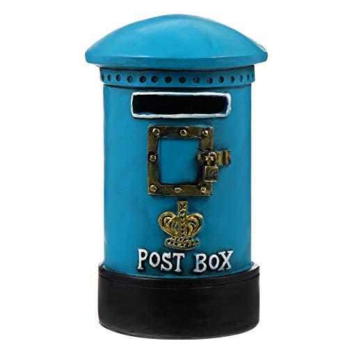 WINOMO 1Pc Mini Posting Box Mailbox Model Ornament Resin Art Crafts Desktop Decoration