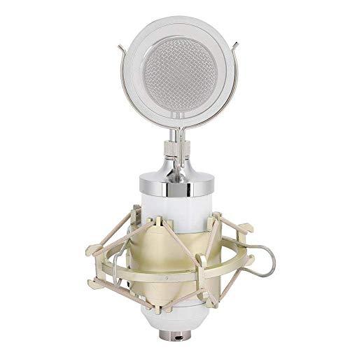 WMY 34 Sensor de gradiente de presión Unidireccional 3.5 XLR Micrófono de Condensador Micrófono, Amplio Rango dinámico para grabación en Estudio Transmisión en Vivo