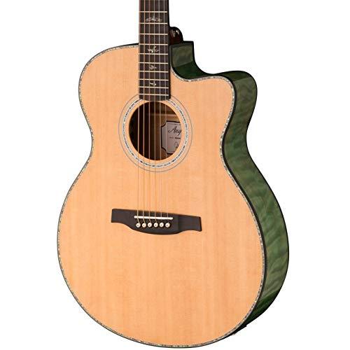 PRS Guitars Guitarra acústica eléctrica de 6 cuerdas, derecha (101594:BH)