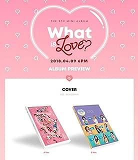 【早期購入特典あり】 TWICE What is Love? 5TH MINI ALBUM ( 韓国盤 )(初回限定特典7点)(韓メディアSHOP限定)...