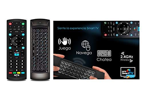 "Televisor 55"" LED NPG 4K UHD Smart TV Android + Teclado QWERTY/Motion. TDT2 H.265, WiFi, Resolución 3840x2160, USB Grabador, Screen Mirroring, Quad Core, S520L55U miniatura"