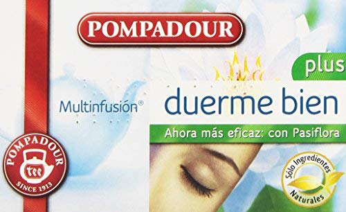Pompadour - Té Duerme Bien Plus - Multifusión - 20
