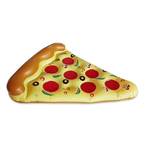 Siqi220 Inflable hilera Flotante Plegable de Agua sofá sillón sillón Pizza Gigante...