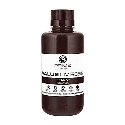 PrimaCreator Value Flex UV Resin - 500 ml - Black