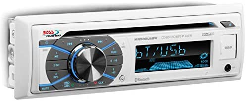 BOSS Audio Systems MR508UABW Marine Receiver Weatherproof Bluetooth Audio and Hands Free Calling product image