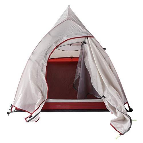 Shanbor Transpirable Impermeable Resistente al Viento con Herramienta de instalación Portátil Plegable Camping Tienda al Aire Libre Refugio Senderismo Silvicultura para montañismo Camping