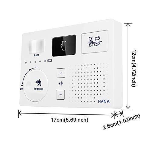 トイレ流水音発生器擬音装置音消し自動人体検知MicroSDカード対応電池ACアダプター壁付け節水ECOメロディー