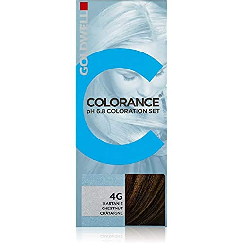 Goldwell Colorance pH 6,8 Colorations Set 4G, kastanie, 1er Pack, (1x 90 ml)