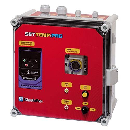 SALVADOR ESCODA Cuadro Temperatura SETTEMP + Programador Tri/Tri 1,5KW (4,1A) + Sonda