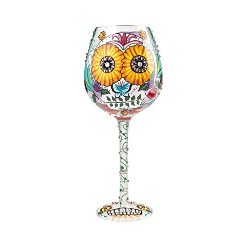 15 Ounce Hand painted Wine Glass Image