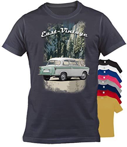 BuyPics4U T-Shirt mit Motiv Trabant Tr20 100% Baumwolle für Herren Damen Kinder viele Farben