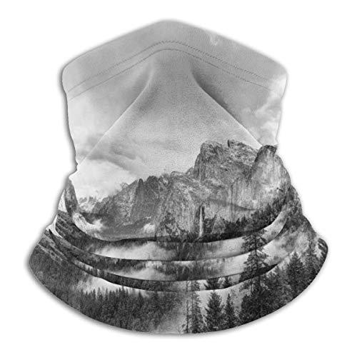 Randy-Shop America Yosemite Valley Forest nekwarmer Yosemite zacht op de huid