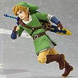 XINXIANG Zelda Modelo Juguetes 14cm Anime La Leyenda De Zelda Link Figura De Acción Posición De Lucha Juegos Cielo Espada PVC Colección Muñecas Juguetes Niños Regalos
