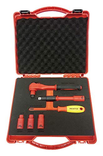 プロスタイルツール 絶縁工具セットP 6点入 樹脂アタッシュケース小 PZ SET P