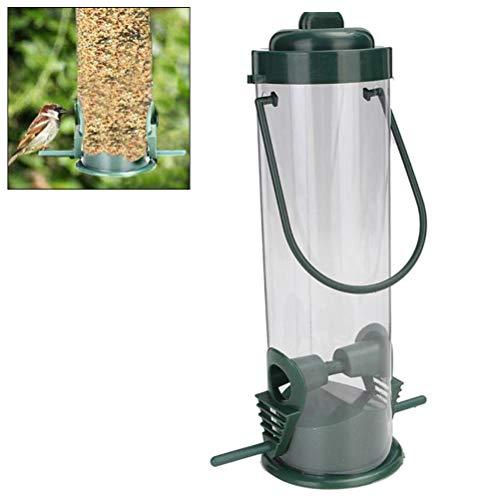 Kylewo hangend voederstation vogelvoer vogelhuisje waterdichte voederdispenser vogel voeder vogel voederhuis voor papegaai parakeet kanariavogel cockatiel