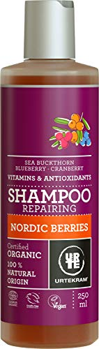 Urtekram Nordic Berries Shampoo, Organic, Repairing, 250 ml