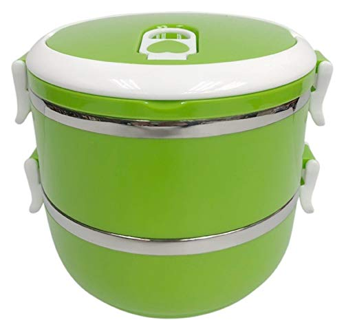 Homemaker Stainless Steel 2 Layer Lunch Box