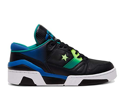 Converse Unisex ERX 260 Neon Psychedelic Hoops Low Top Black/Ghost Green/White (9, Numeric_9)