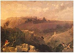 تابلوه المناظر الطبيعية الشرقية من فوتو بلوك 30 × 20 سم - 2724819604287