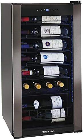Wine Enthusiast VinoView 28 Bottle Wine Fridge Freestanding Refrigerator product image