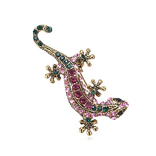 XYW Broche - Broche de Lagarto Moda Linda de Moda Estilo Pin de Animal Brillante Accesorios de joyería Buenos Regalos for niñas (Color : #8)