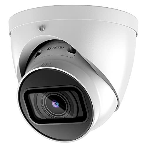 8MP Starlight 5X Motorized Vari-Focal Lens PoE IP Camera, VD-2T81-ZS, 2.7mm–13.5mm (OEM IPC-HDW2831T-ZS-S2) 4K IR Eyeball Outdoor Camera with 132ft Night Vision, H.265, IP67, SD Card Slot, IVS