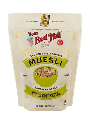Bob's Red Mill Tropical Muesli, 14 Ounce (pack of 4)