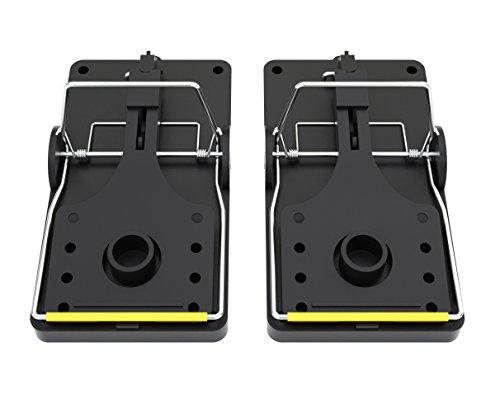 TwinterS - Profi Nagetierfalle, hygienisch aus Kunststoff (Ratte 2X)