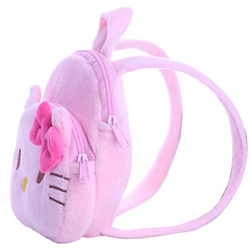 Zeagro Puppenzubehör, Rucksack, Mini-Tasche, Schultasche für 45,7 cm große American Girl Puppen rose