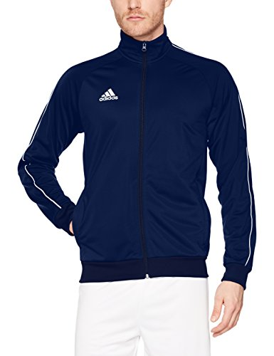 adidas Herren Core18 PES Jacke, Dark Blue/White, XL