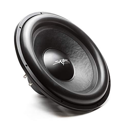 "Skar Audio SDR-18 D2 18"" 1200 Watt Max Power Dual 2 Ohm Car Subwoofer"