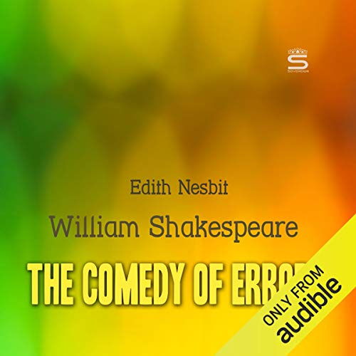 The Comedy of Errors audiobook cover art