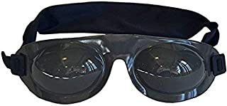 Eyeseals 4.0 Hydrating Sleep Mask for Nighttime Dry Eye Relief (Black)
