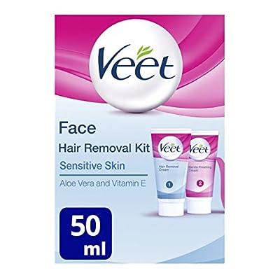 Veet Face Hair Removal Kit Sensitive Skin 2 X 50Ml from Reckitt Benckiser