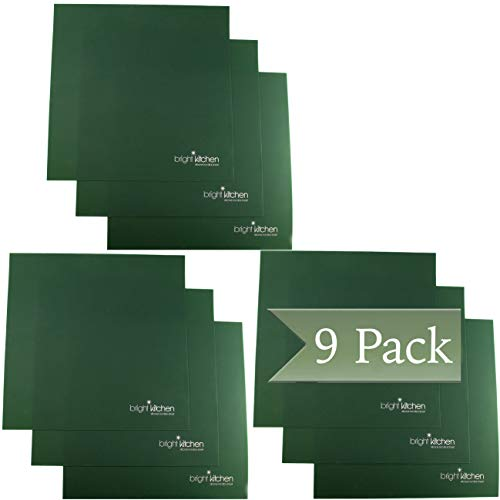9 Silicone Non Stick Sheets fits Tribest...
