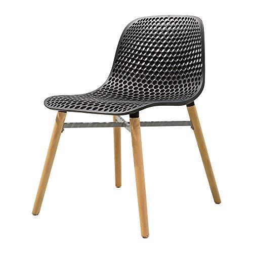XBSD eetkamerstoel in moderne stijl, midden eeuw, kindervriendelijke berkenstoelen, stapelbare stoelen, plastic stoel voor keuken, slaapkamer, woonkamer zijstoelen, wit